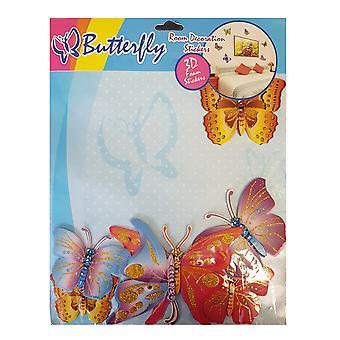 Butterfly Room Decoration 3D Foam Stickers