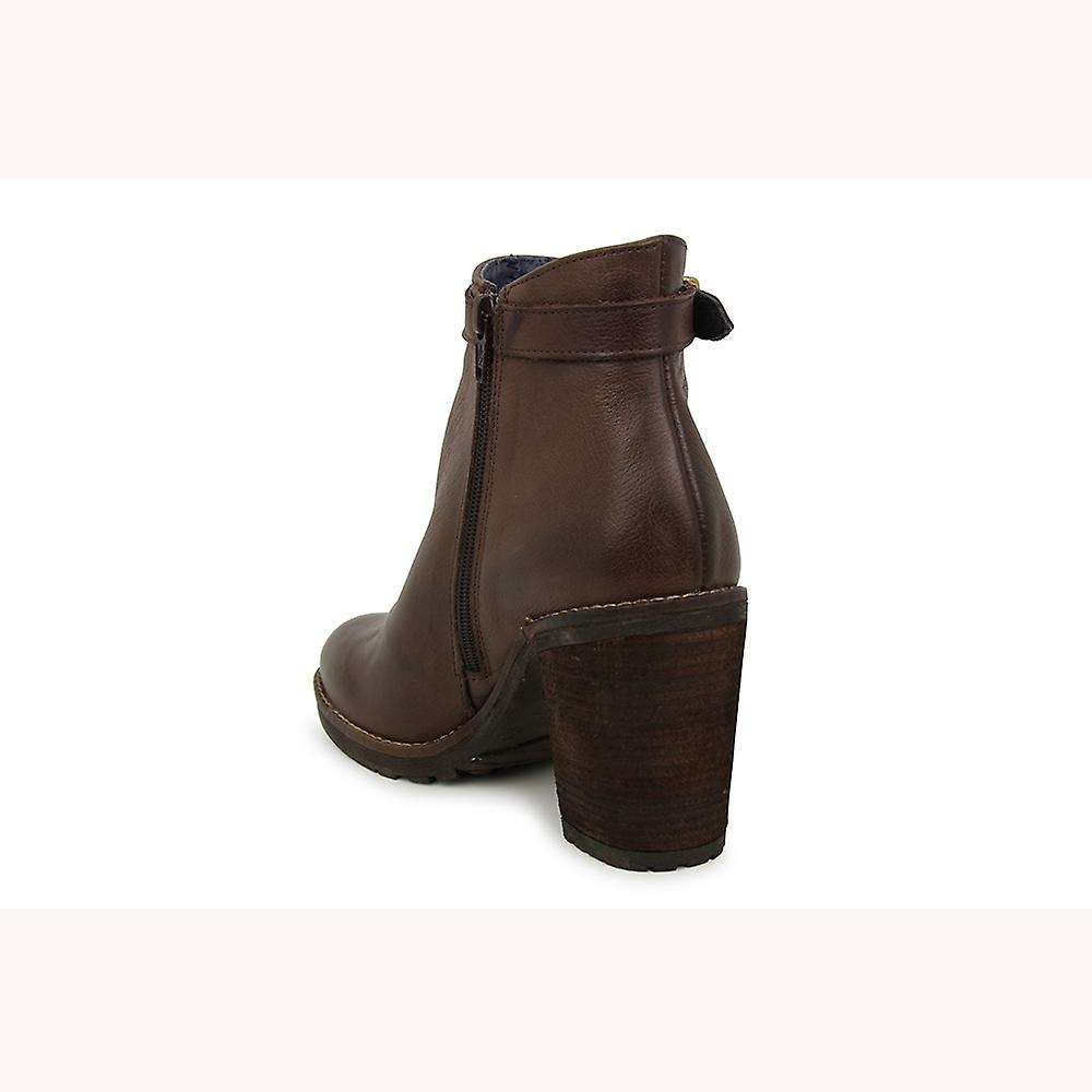 Liberitae booties booty Maddy Leather Brown 21703333-01