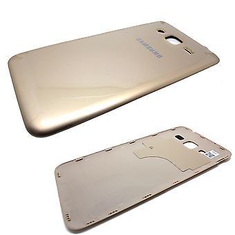 Aito Samsung Galaxy J3 - SM-J320 - Takakotelon akun ovi - Samsung Service Pack - Kulta - GH98-39052B
