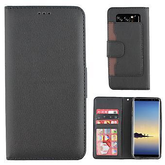 Colorfone Samsung Galaxy Note 8 wallet case (BLACK)