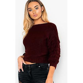 IKRUSH Womens Everli grosso maglione