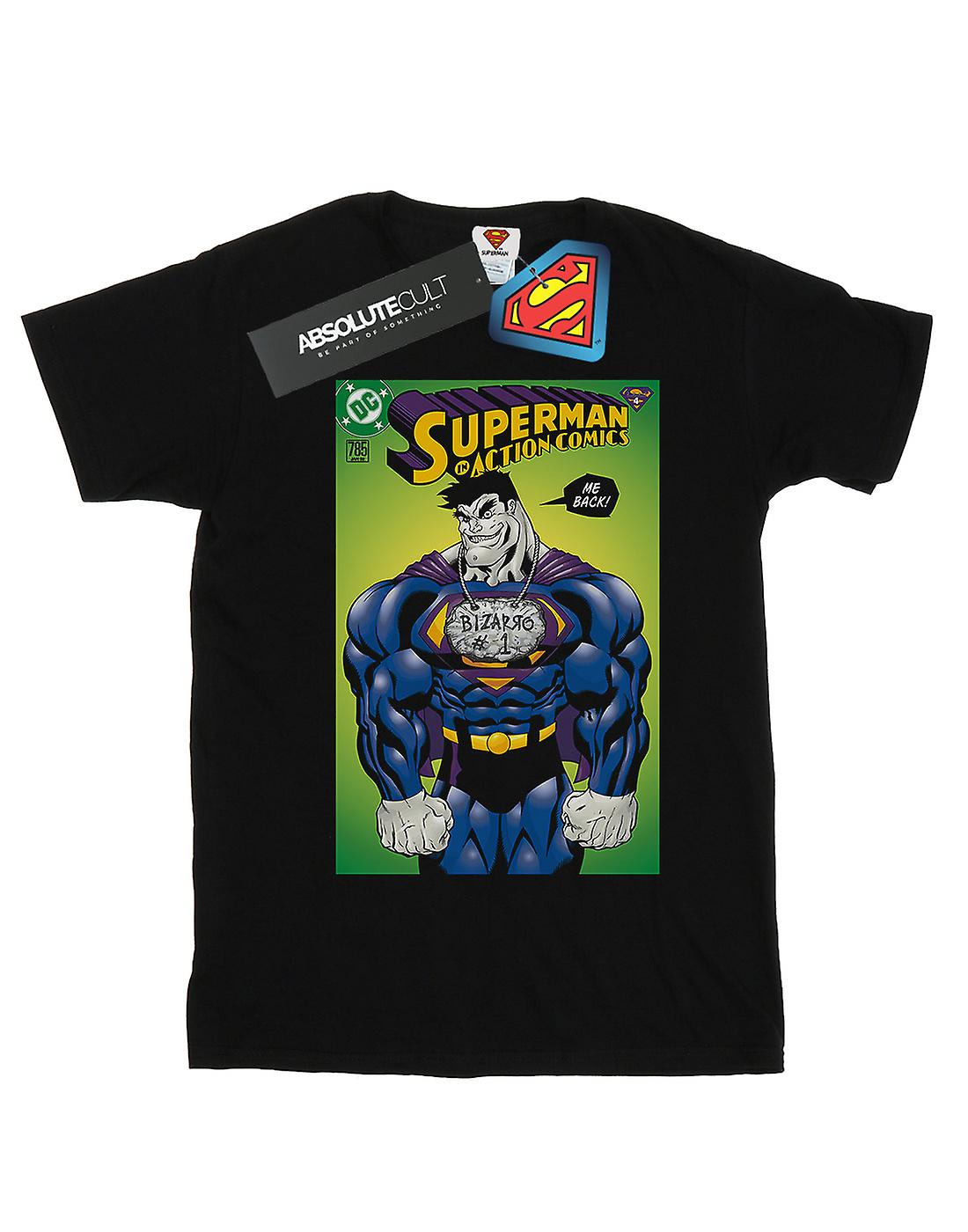 DC Comics Boys Superman Bizarro Action Comics 785 Cover T-Shirt