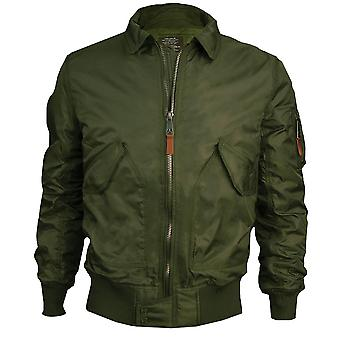 Top Gun CWU 45 Flight Jacket Olive