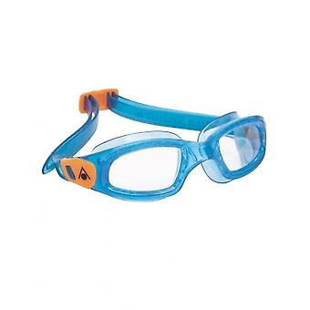 Aqua Sphere Kameleon Kids -3-6 years- Swim Goggle-Clear Lens - Blue/Orange