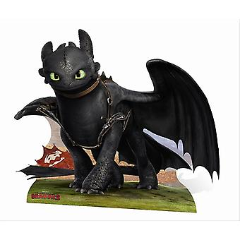 Toothless from How To Train Your Dragon 2 Cardboard Cutout / Standee / Standup