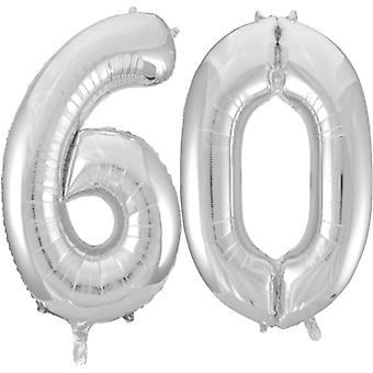 Grands ballons en papier d'aluminium de 102 cm (40 po) pour 16 à 60 anniversaires