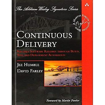 Entrega continua: Versiones de Software confiable a través de la construcción, prueba y despliegue automatización (Addison-Wesley Signature Series
