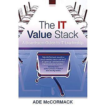 De waarde-Stack van IT: Een Boardroom Guide to IT leiderschap