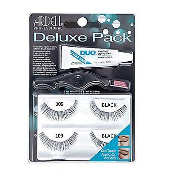 Ardell Eyelash Deluxe Pack 109 Negro