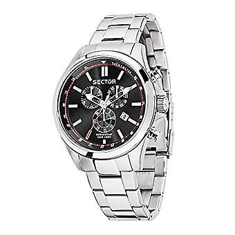 Secteur chronographe hommes quartz en acier inoxydable bracelet 180