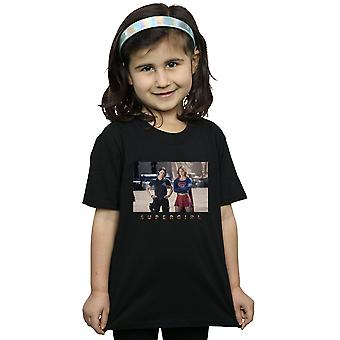 DC Comics meisjes Supergirl televisieserie zusters fotograferen T-Shirt