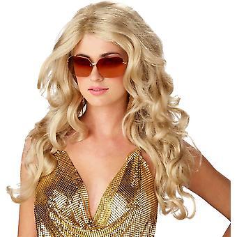 السوبر موديل شعر مستعار أشقر للمرأة