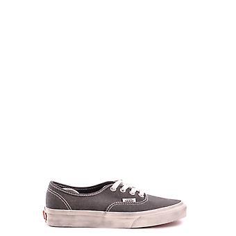 Vans Ezbc071017 Women's Grey Fabric Sneakers