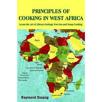 PRINCIPI di cottura nell'AFRICA occidentale imparare l'arte del patrimonio africano Foo Foo e zuppa di cucina da Essang & Raymond