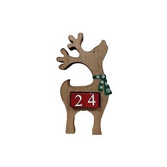 Reindeer Countdown To Christmas Perpetual Calendar