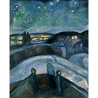 Moonlight, Edvard Munch, 50x40cm