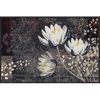 Salon Leeuw deurmat Lotus kimono 50 x 75 cm. wasbaar vuil mat