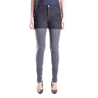 Frankie Morello Ezbc167067 Women's Grey Cotton Pants