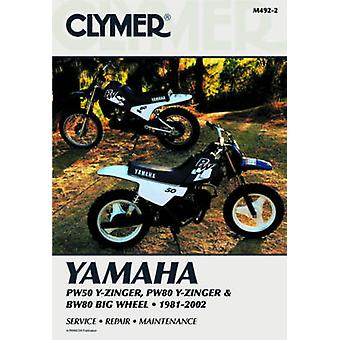 Yamaha PW50 & PW80 Y-Zinger 81-02 (2nd) by Penton - 9780892878284 Book