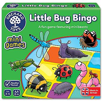 Sad zabawki mały Bug gry Bingo podróży