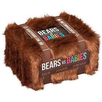 Ours vs bébés un jeu de cartes