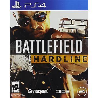 Battlefield Hardline PS4 Game (boîte en anglais/arabe)