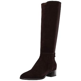 Aquatalia Womens Finola Leather Closed Toe Mid-Calf Fashion Boots