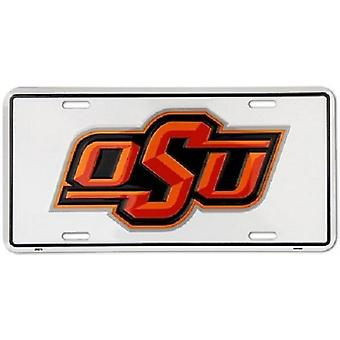 Oklahoma State Cowboys NCAA plaque d'immatriculation