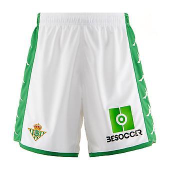 2019-2020 Real Betis kappa hem shorts (vit)
