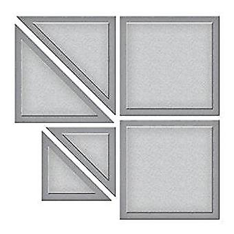 Zauberbinder Block Quilt geätzt Die D-Lites (S3-286)