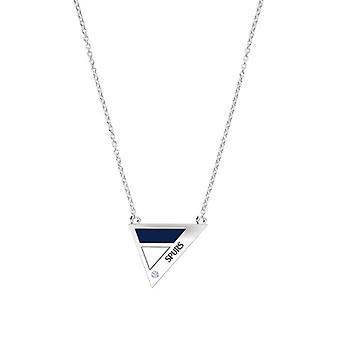 Tottenham Hotspurs FC Diamante durante collar en diseño de plata de ley por BIXLER