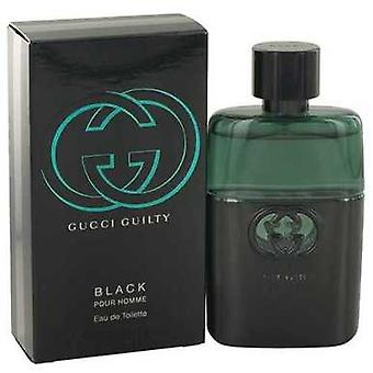 Gucci Guilty Black By Gucci Eau De Toilette Spray 1.6 Oz (men) V728-500592