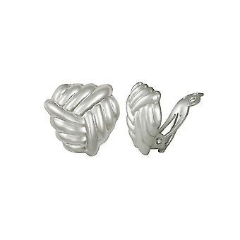Evig samling omfavnelse knute Sterling sølv klipp på Stud øredobber