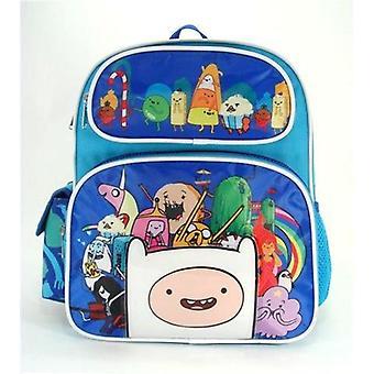 Small Backpack - Adventure Time - Finn Big Group/Team Boys School Bag 635268