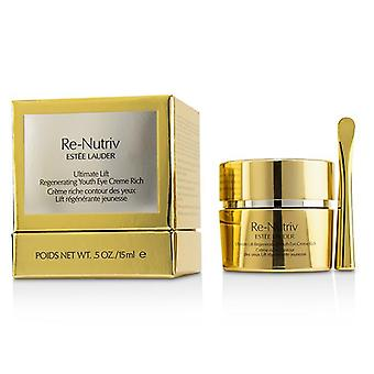 Estee Lauder Re-nutriv Ultimate Lift Regenerating Youth Eye Creme Rich - 15ml/0.5oz