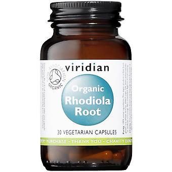 Viridian Organic Rhodiola Rosea Veg Caps 30 (963)