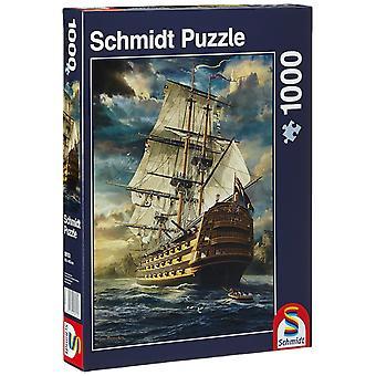 Schmidt voiles jeu Jigsaw Puzzle (1000 pièces)