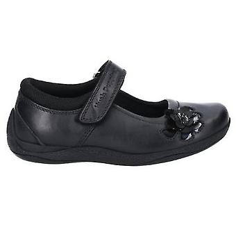 Hush Puppies Jessica Junior Girls Leather School Shoe