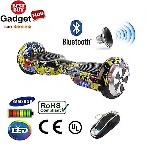 H1 - 6,5 tums Hip Hop Bluetooth Segway Hoverboard