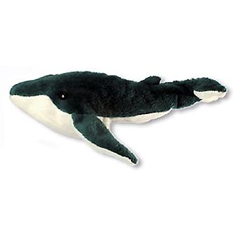 Finger Puppet - Whale (Blue) New Soft Doll Plush PC002110