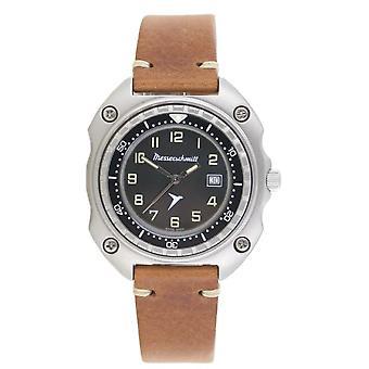 Aristo Messerschmitt Men's Watch Pilot's Watch Vintage ME2040-VLB Leather
