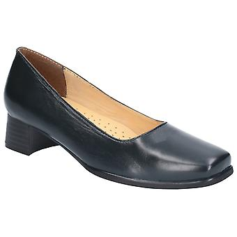 Amblers Femmes Walford Ladies Wide Fit Court Navy