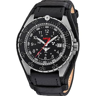 KHS - ساعة اليد - الرجال - المنفذ تيتان CR مع حزام جلدي G-Pad-KHS. (إنفتكر) R
