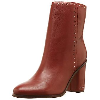 Marc Fisher Womens MFpiazza Leather Almond Toe Mid-Calf Fashion Boots