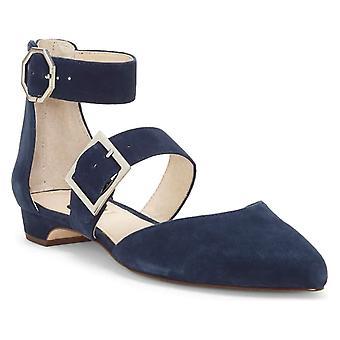 Louise Et Cie Womens LO-CORRIETT Pointed Toe Ankle Strap Espadrille Flats