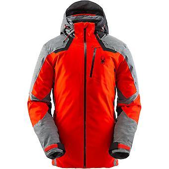 Spyder LEADER Men's Gore-Tex Primaloft Ski Jacket - Red
