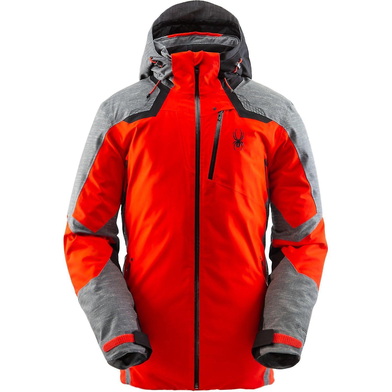 Spyder LEADER Herren Gore-Tex Primaloft Ski Jacke - rot