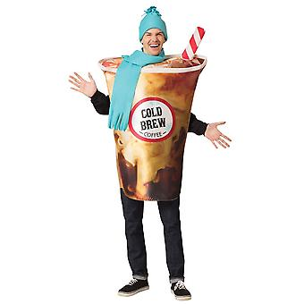 Cold Brew Coffee Adult Costume
