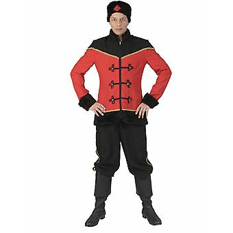 Kosake Costume Rider People Uniforme Costume Homme