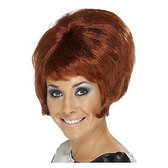 Womens 60 s Beehive perruque Auburn déguisements accessoires